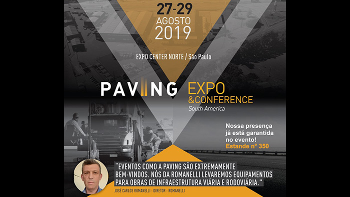 PAVING EXPO CONFERENCE 2019