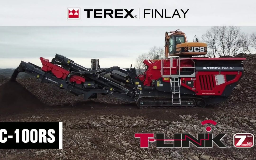 Trituradora de impacto compacta Terex FInlay IC-100RS