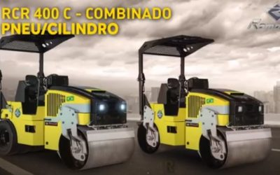 Rodillos Compactadores Romanelli RCR 400 C e RCR 400 T